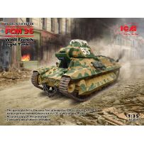 FCM 36, WWII French Light Tank 1/35