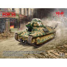 FCM 36, char léger français de la Seconde Guerre mondiale 1/35