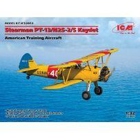 Icm 32052 - Stearman PT-13 / N2S-5 Kaydet Avion d'entraînement Américain 1/32