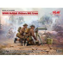 WWII British Vickers MG Crew (2 Figurines) 1/35