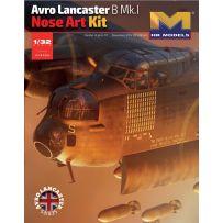 Avro Lancaster B Mk.I Nose Art Kit 1/32