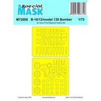 B-10/12/model 139 Bomber 1/72