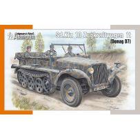 Sd.Kfz 10 Zugkraftwagen 1t (Demag D7) 1/72