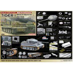 Tiger I Mid-Production w/Zimmerit Otto Carius (Battle of Malinava Village 1944) 1/35