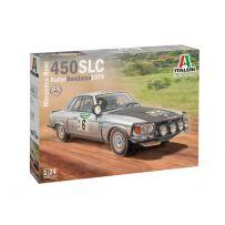 Mercedes-Benz 450SLC Rallye Bandama 1979 1/24