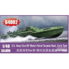 Elco 80 Motor Patrol Torpedo Boat, Early Type 1/48