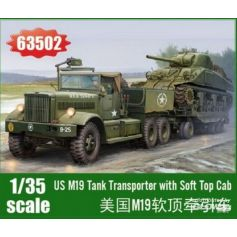M19 Tank Transporter with Soft Top Cab 1/35