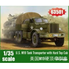 M19 Tank Transporter with Hard Top Cab 1/35