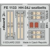 HH-34J seatbelts Steel 1/48