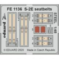 S-2E seatbelts Steel 1/48