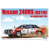 Nissan 240RS (BS110) 84 Safari Rally 1/24