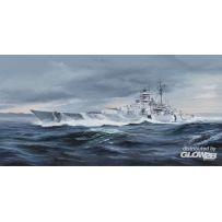 German Bismarck Battleship 1/350
