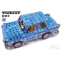 Trabant S601 2-In-1 Metallbaukasten 1/64