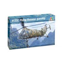 H-21C Flying Banana GunShip 1/48