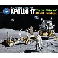 Dragon D11015 - Apollo 17 The Last J-Mission CSM + LM + Lunar Rover 1/72