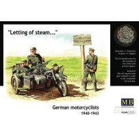 Motocyclistes Allemands 1940-42 1/35
