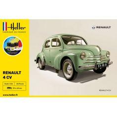 STARTER KIT Renault 4 CV 1/24