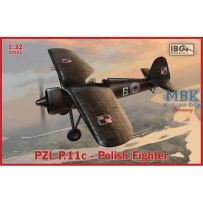 PZL P.11c Polish Fighter 1/32