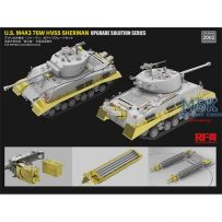 U.S M4A3 76W HVSS SHERMAN upgrade solution 1/35