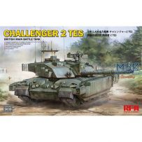 British Main Battle Tank Challenger 2 Tes 1/35
