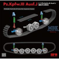 Pz. Kpfw. III Ausf. J w/workable track links 1/35