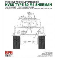 HVSS Type 80 track - M4 Sherman 1/35
