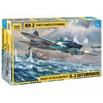 Zvezda 4825 - Avion d'Attaque Soviétique IL-2 Shturmovik 1/48