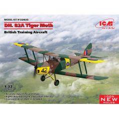 D.H. 82A Tiger Moth British Training Aircraft 1/32