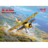 Icm 32020 - CR. 42 Falco Chasseur Italien 2E G.M. 1/32