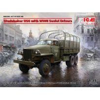 Studebaker US6 avec Conducteurs Soviétiques de la Seconde G.M. 1/35