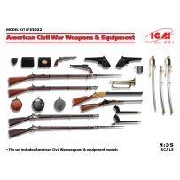 Armes et équipement de la Guerre Civile Américaine 1/35