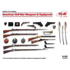 US Civil War Weapons & Equipment 1/35