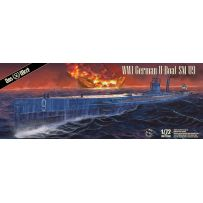 U-Boat SM U-9 pétrole/électrique Allemand de la 1ère G.M. 1/72