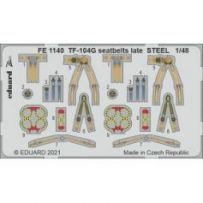TF-104G seatbelts late Steel 1/48