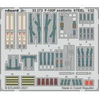 F-100F seatbelts Steel 1/32