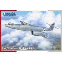 Gloster Meteor F.8 Prone Pilot 1/72
