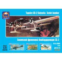 Ark Model 72002 - Bombardier moyen Russe Tupolev SB-2 1/72