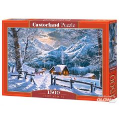 Snowy Morning, Puzzle 1500 pcs