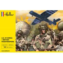 Heller 30313 - A.S. 51 Horsa + Paratroopers 1/72