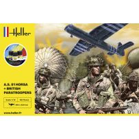 STARTER KIT A.S. 51 Horsa+ Paratroopers 1/35