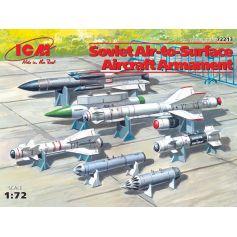 Armement aéronautique Soviétique 1/72