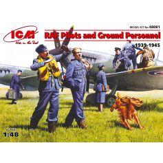 Pilotes et techniciens RAF (1939-1945) 1/48