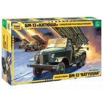 Zvezda Z3521 - Orgue de Staline BM-13 5 (Katyusha) 1/35