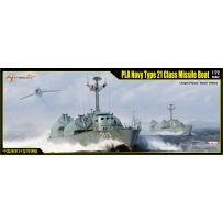 Bateau lance-missiles de Classe 21 PLA Navy 1/72