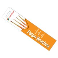 Humbrol AG4250 - Palpo Brush Pack 000, 0, 2, 4