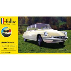 STARTER KIT Citroen DS 19 1/43