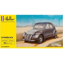 Heller 56175 - STARTER KIT Citroen 2 CV 1/43