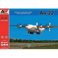 Avion de transport à turbopropulseur lourd An-22 1/144