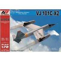 Modelsvit MSVI-AAM7202 - VJ 101C-X2 Chasseur VTOL à capacité supersonique 1/72
