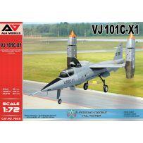 VJ 101C-X1 Chasseur VTOL à capacité supersonique 1/72